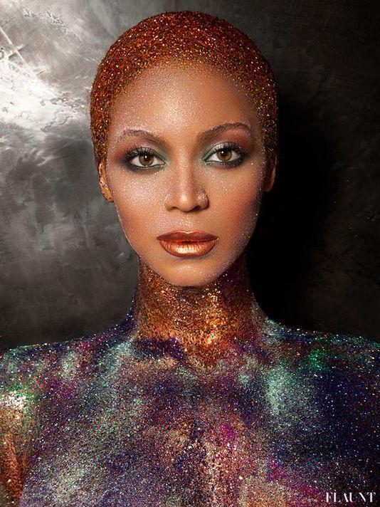 Beyonce in Glitter!