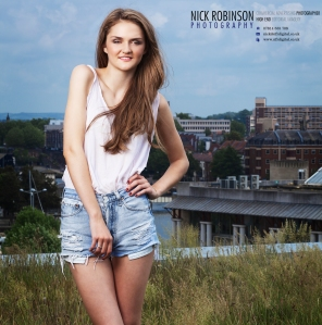 Photo shoot with Nick Robinson & GIngersnap Models