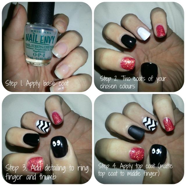 Simple Halloween Nails!