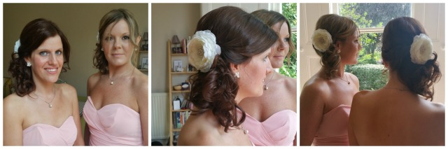 Real Weddings Rebecca M bridesmaids