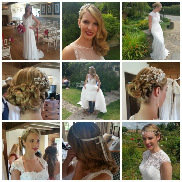 West Wedding Autumn hair and make up