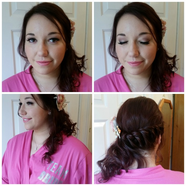 Blanca Wedding hair and make up by Grace Kingsley