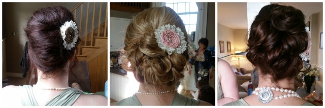 Hannahs Bridesmaids Hair