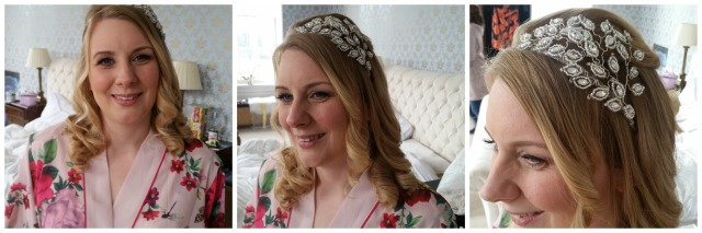 Jenni Wedding hair and make up by Grace Kingsley