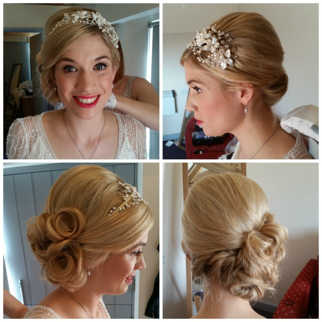 Sophie wedding hair and make up by grace kingsley